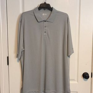 Izod SS Golf Shirt Gray 3XLT